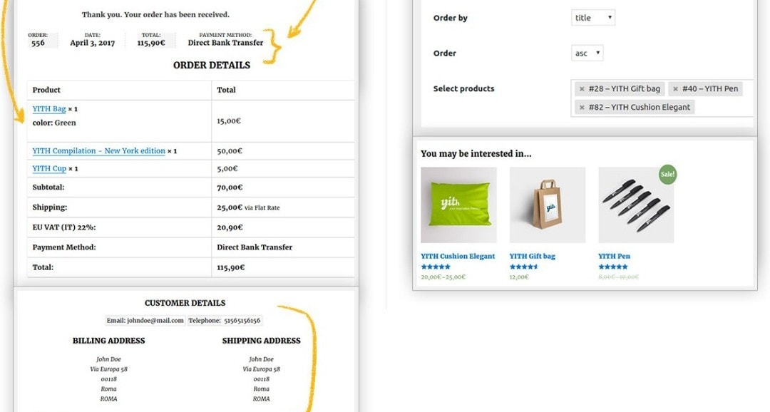 WooCommerce заказы: простое оформление, обработка и управление 05