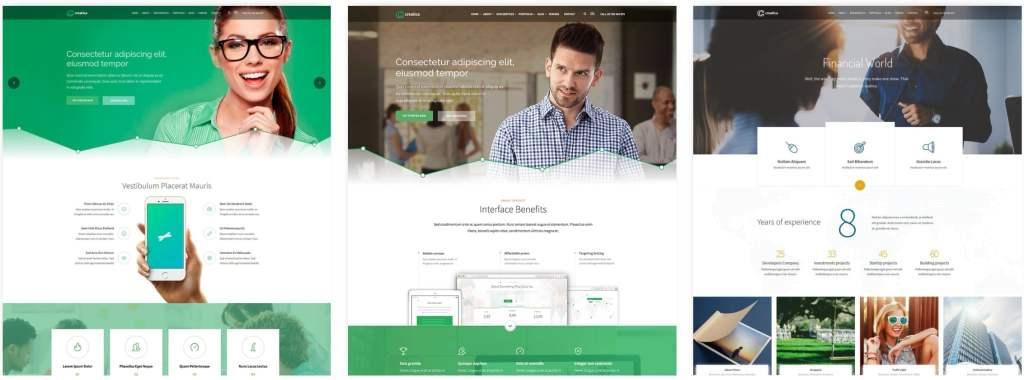 лучшие шаблоны веб сайтов с самым крутым и красивым дизайном 03