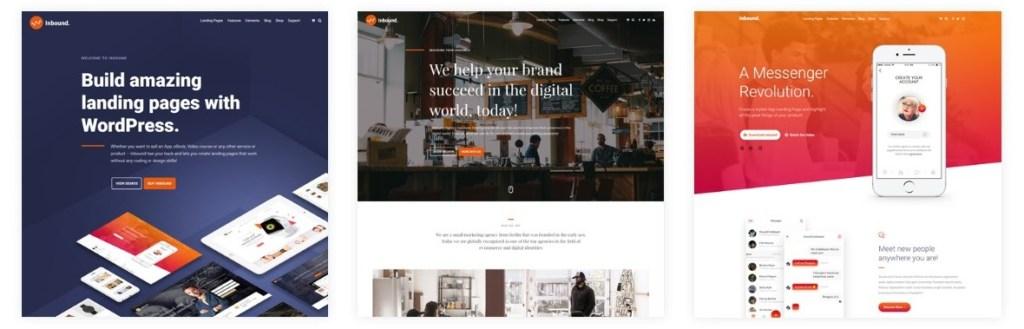 лучшие шаблоны веб сайтов 2018 с современным функционалом и дизайном 08
