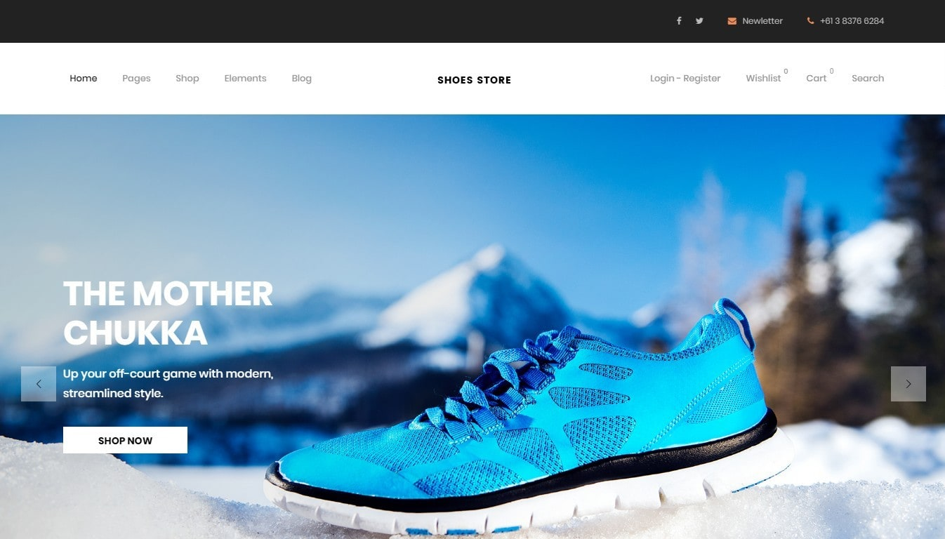 CruxStore – многозадачная WooCommerce тема с 15 демо-сайтами. шаблон интернет  магазина обуви ... f5dad74d86405