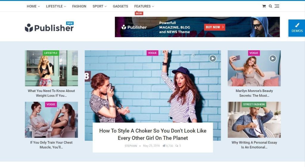 шаблон сайта онлайн для блога, бизнеса, портфолио, магазина и каталога 07