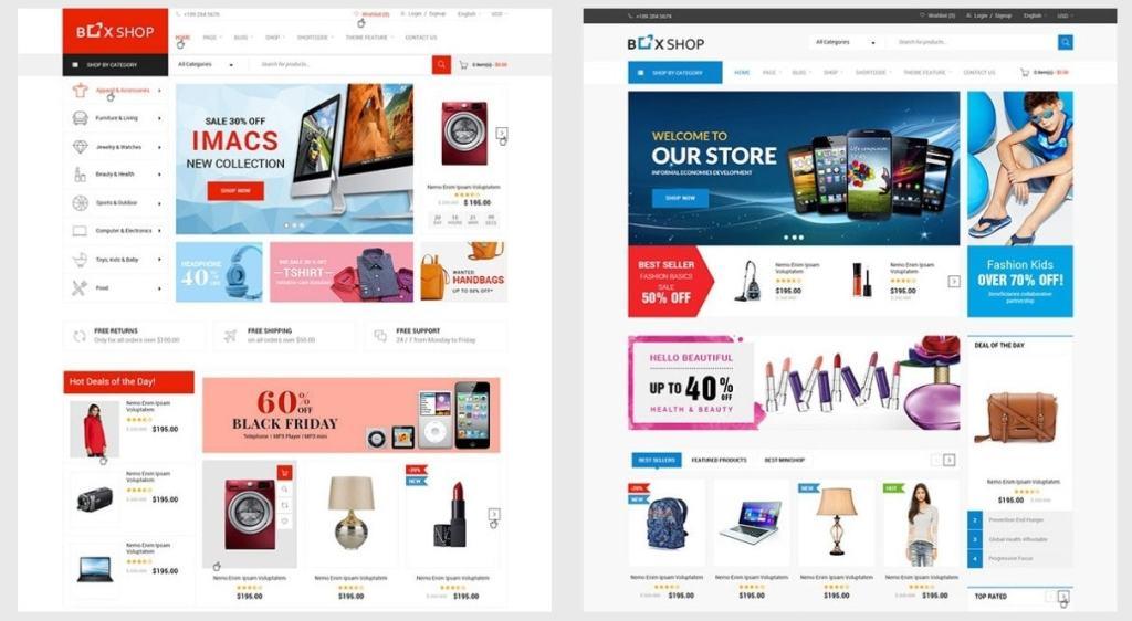 шаблон сайта товаров с быстрым поиском и безопасной онлайн-оплатой 03