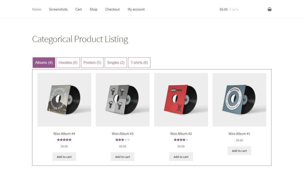 WooCommerce товар списком: красивое оформление ассортимента 2