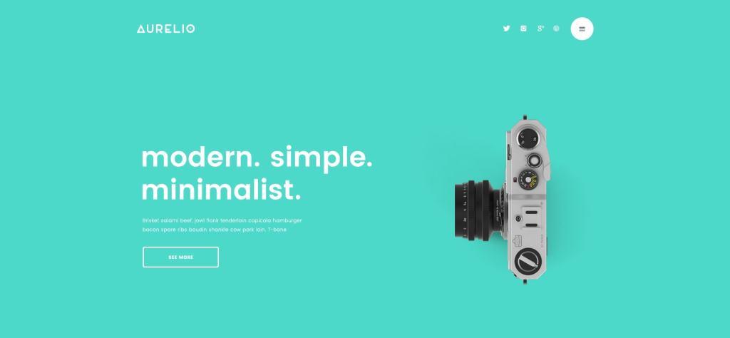 готовые макеты сайтов с премиум дизайном на все случаи жизни 10