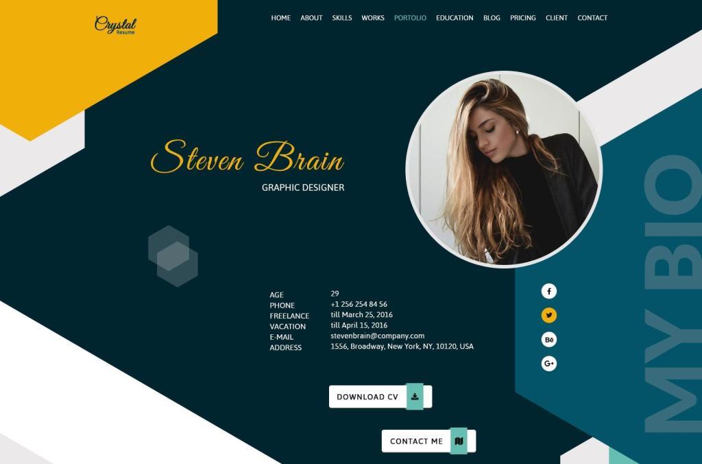 резиновый макет сайта: готовая концепция мобильного сайта 07