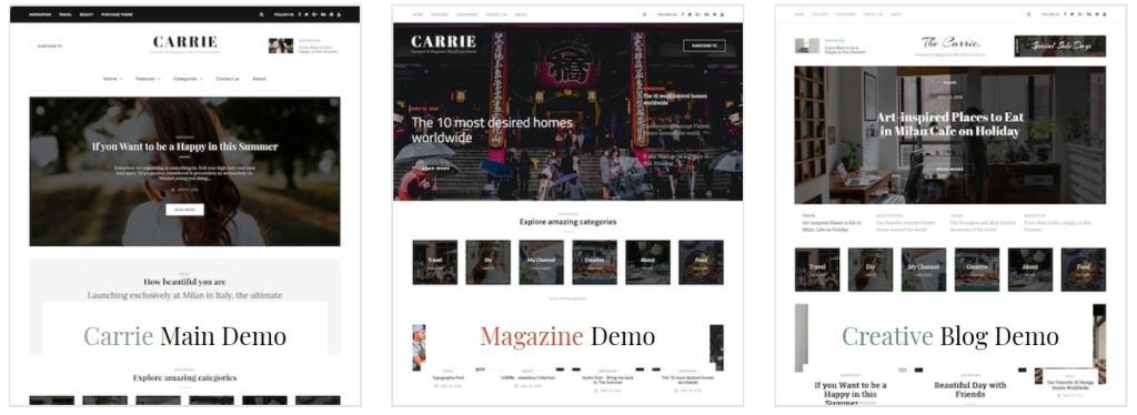 готовые дизайны сайтов для бизнеса, блога и eCommerce 09