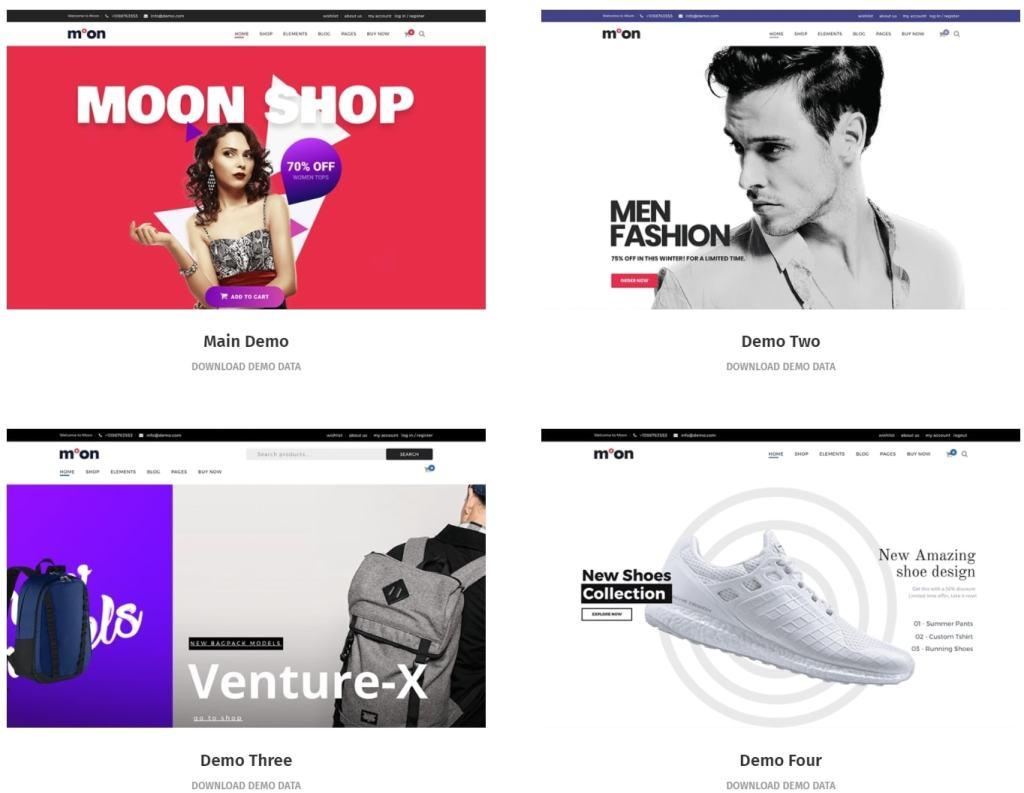 готовые дизайны сайтов для бизнеса, блога и eCommerce 10