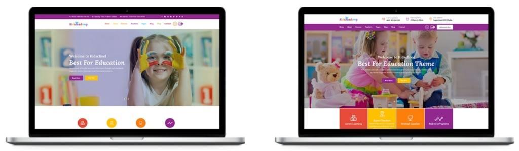 детские темы WordPress для школ, детских садов, центров и магазинов 06