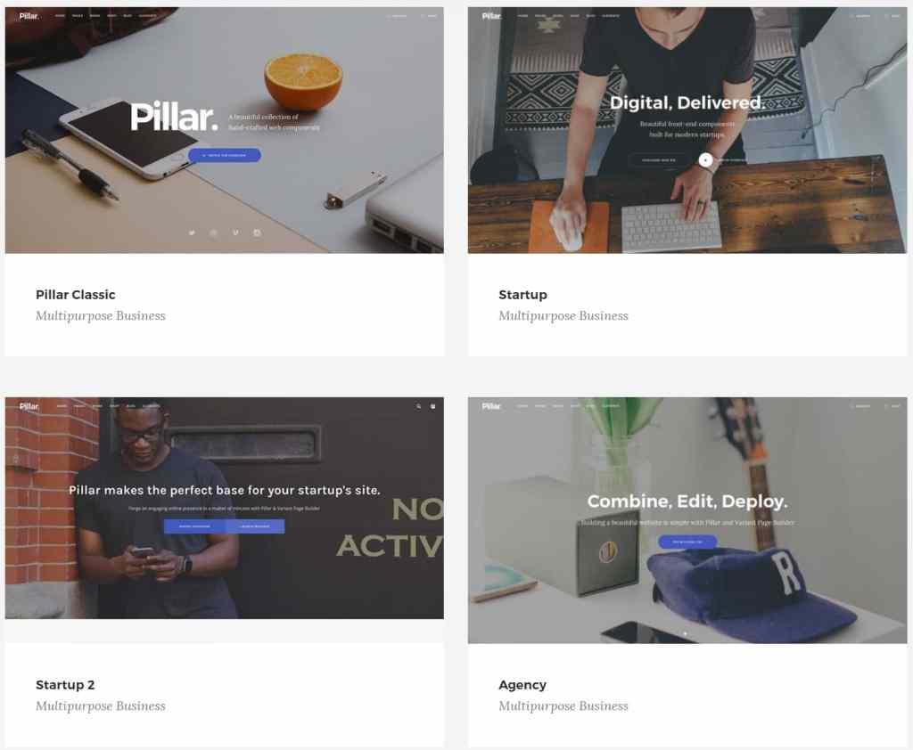корпоративные шаблоны HTML: Веб-решение под любую платформу 08
