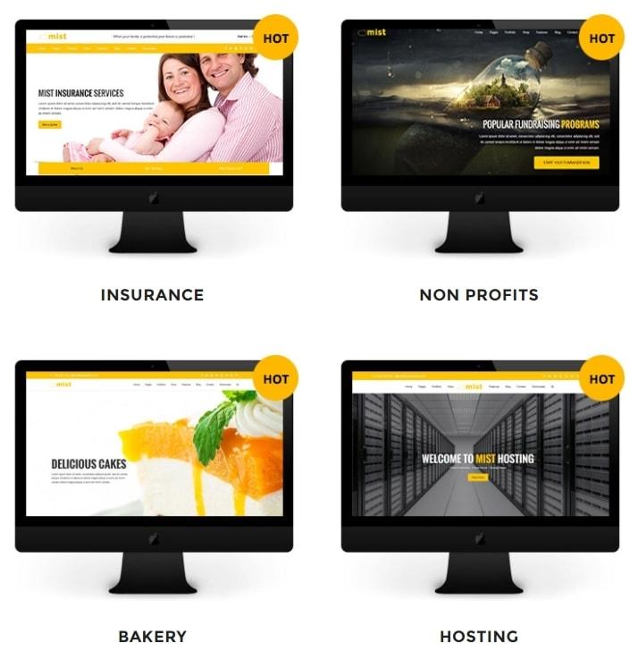 корпоративные шаблоны HTML: Веб-решение под любую платформу 12