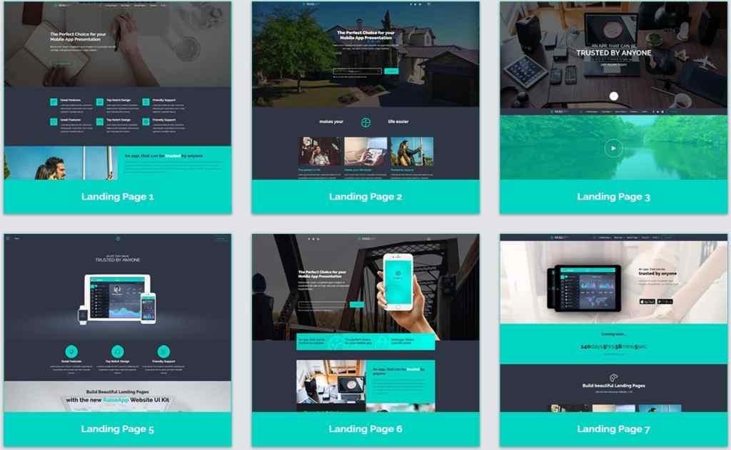 макеты сайтов HTML с возможностью разработки под любую платформу 15