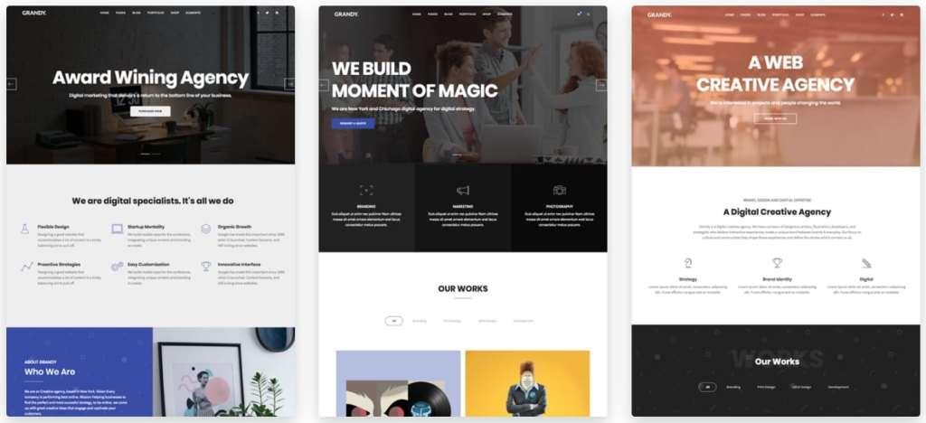 макеты сайтов HTML с возможностью разработки под любую платформу 19