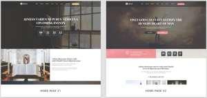 макеты сайтов HTML с возможностью разработки под любую платформу 49