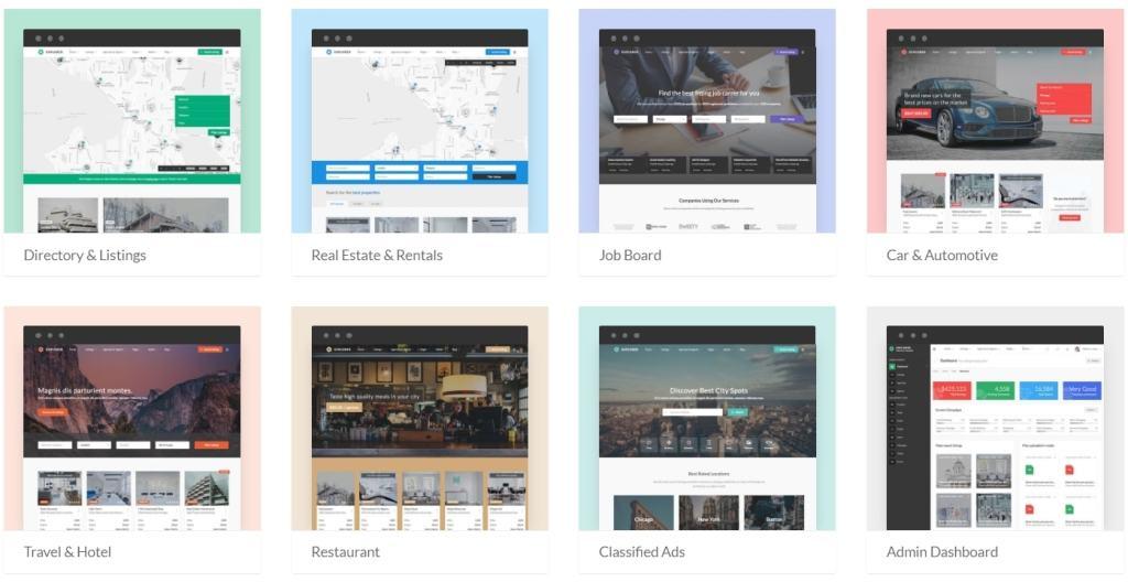 Топ 100 адаптивные HTML шаблоны для бизнеса, портфолио, блога и магазина 35