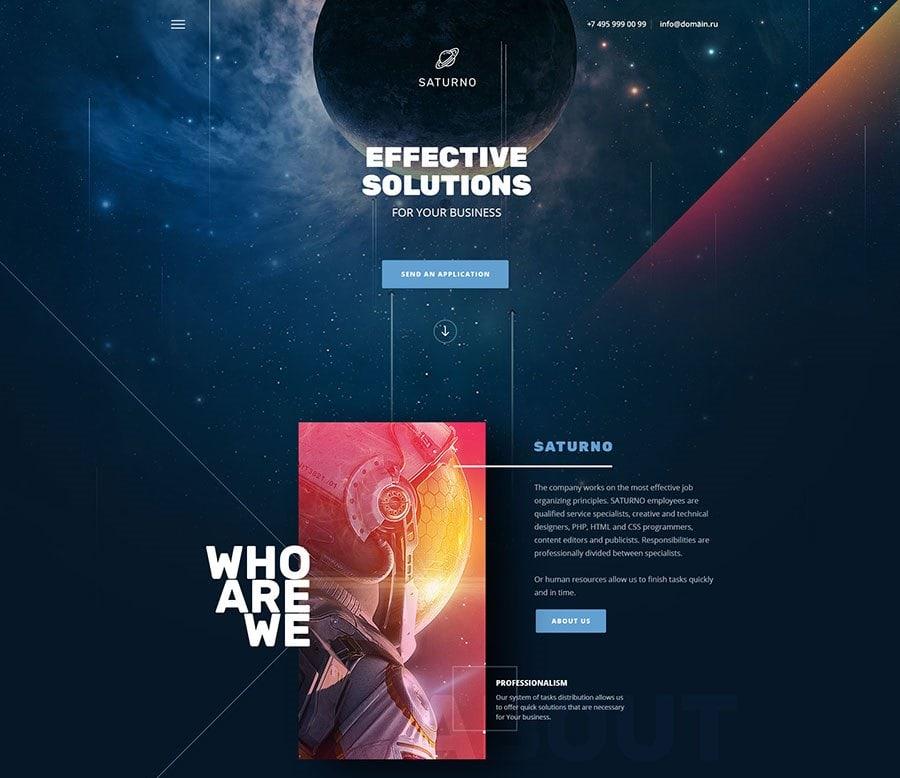 PSD макеты сайтов – 50 дизайнерских концепций для вашего бизнеса 21