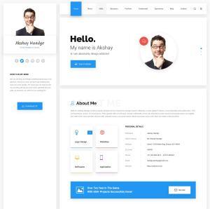 PSD макеты сайтов – 50 дизайнерских концепций для вашего бизнеса 24