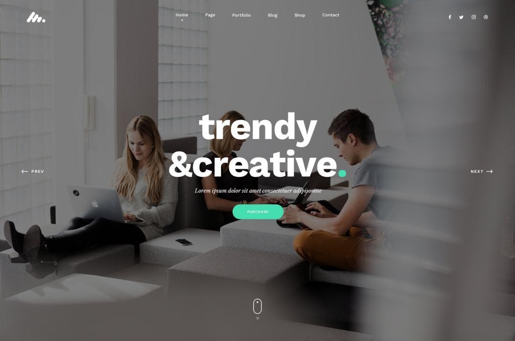 PSD макеты сайтов – 50 дизайнерских концепций для вашего бизнеса 27