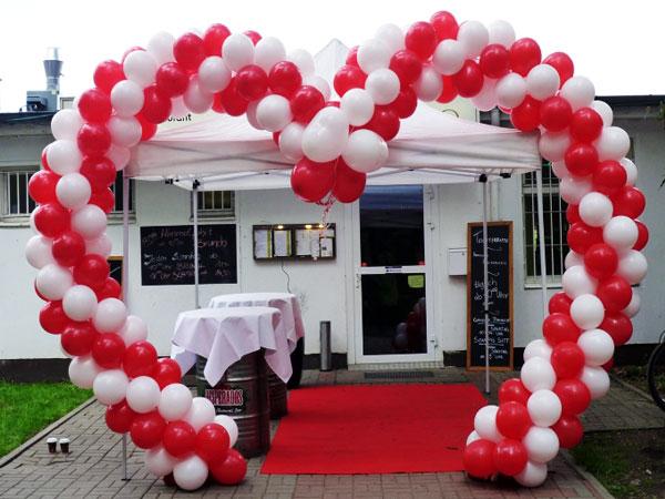 Berlin Ballons zur Hochzeit