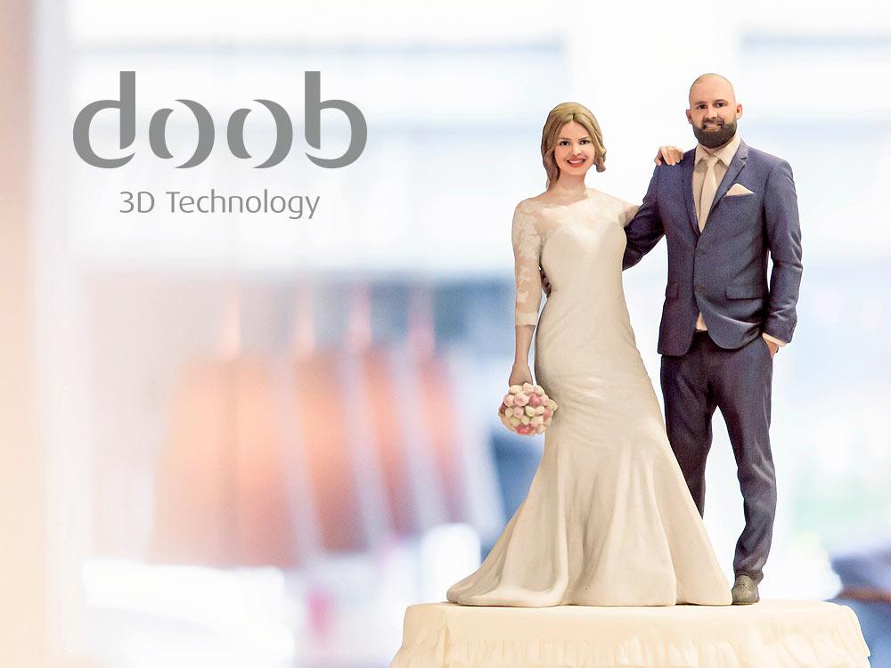 doob store Berlin 3D Figuren als Tortenfiguren