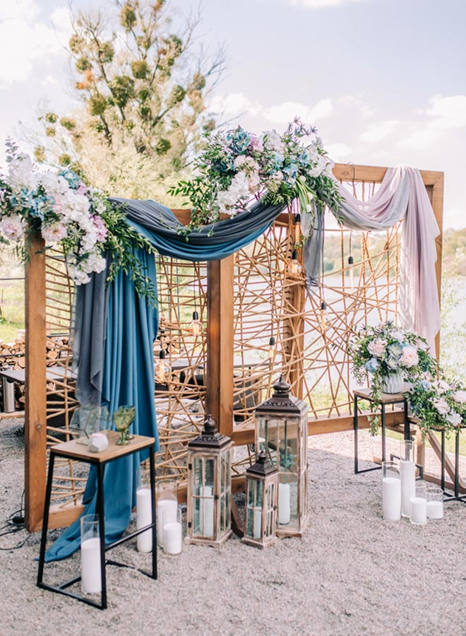 Hochzeitsdeko Boho