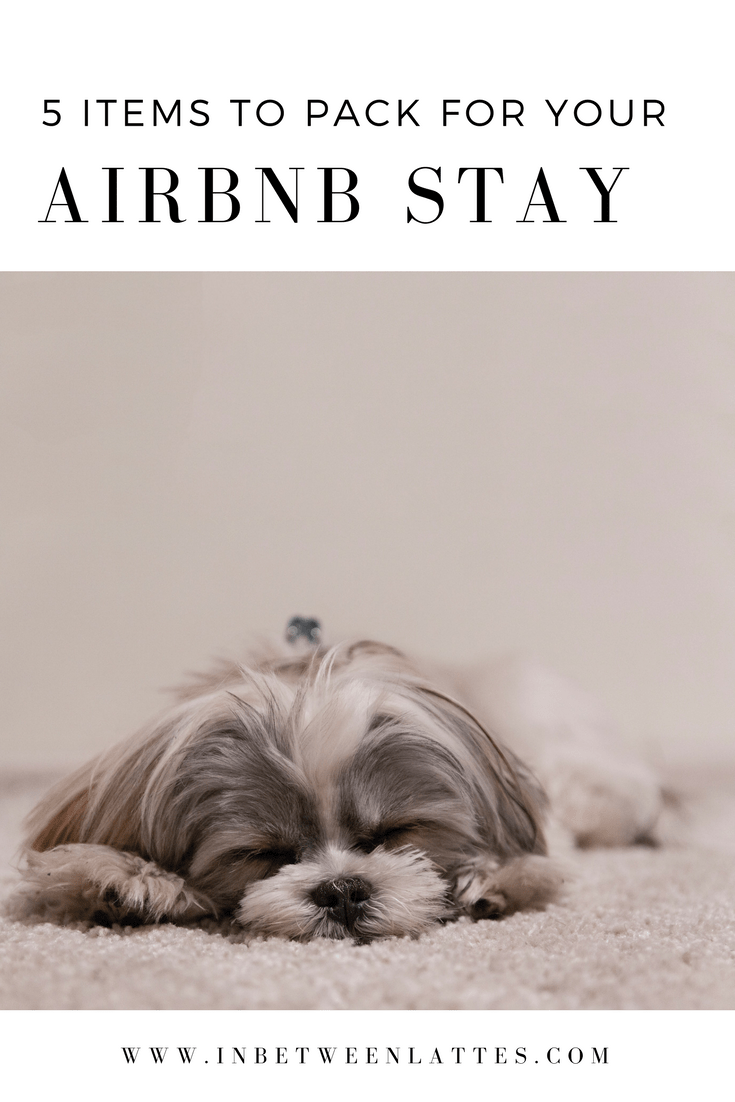 5 things to pack to make your Airbnb stay truly feel like home
