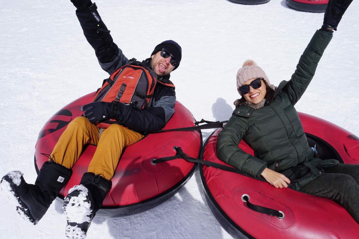 Snow Tubing in South Lake Tahoe Travel Guide - IN BETWEEN LATTES BLOG