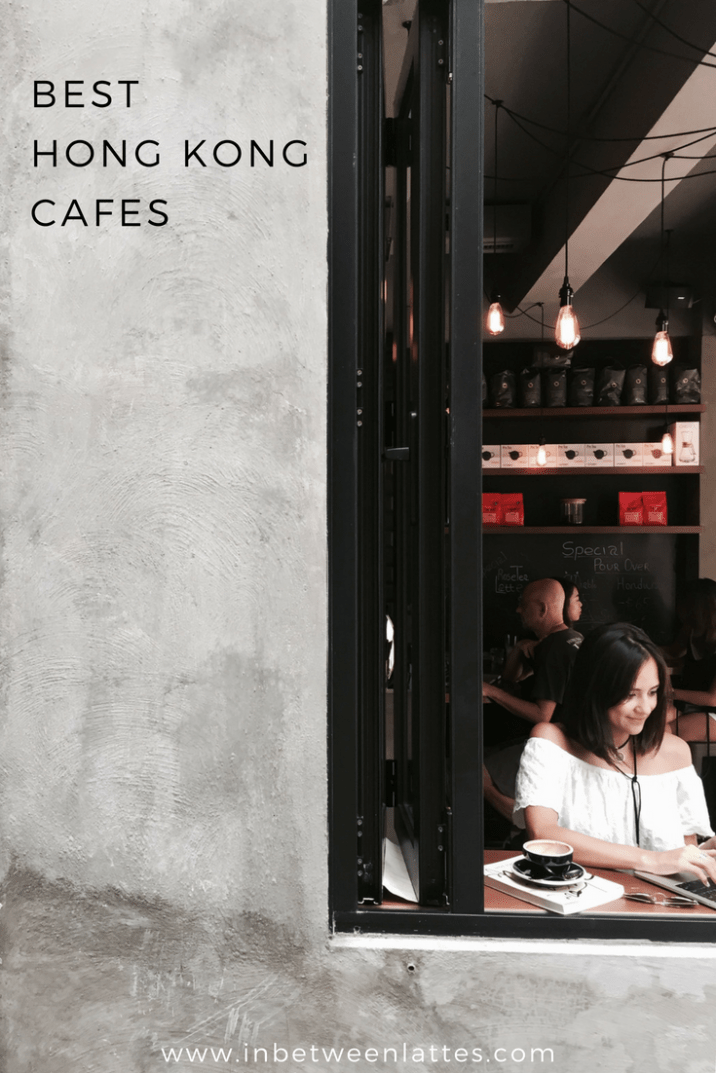 Best Hong Kong Cafes - IN BETWEEN LATTES
