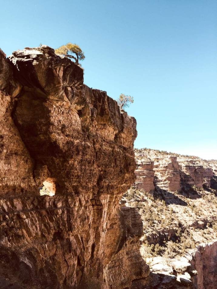 Hiking Bright Angel Trail in Grand Canyon 10