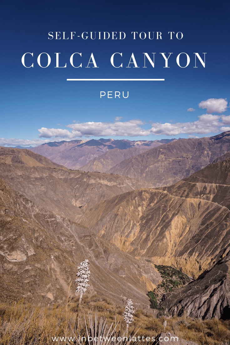 Self-guided tour to Colca Canyon Peru
