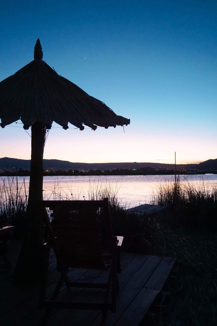 Uros-Islands Homestay-Review-Sunset-3