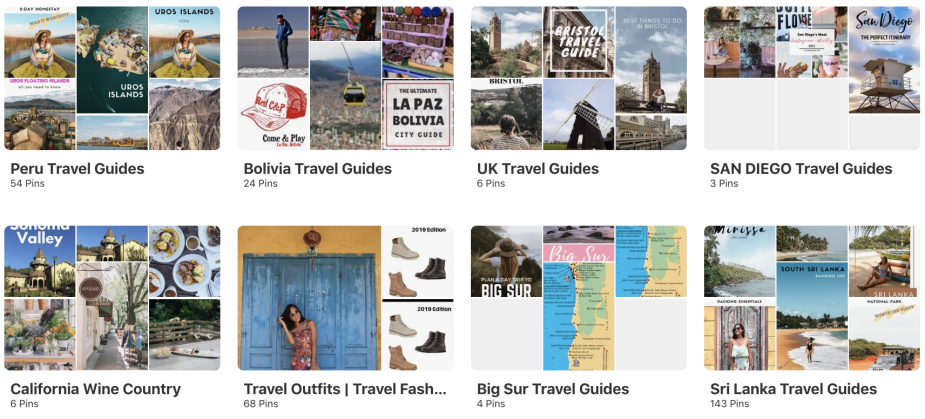 How to use Pinterest to plan a trip like a travel blogger