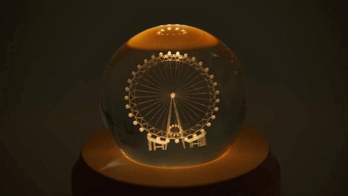 シャインボールランプ