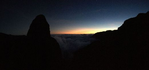 Roque Agando nach Sonnenuntergang