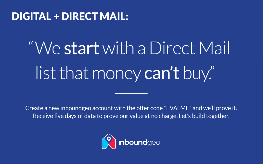 Direct Mail you can try before you buy.