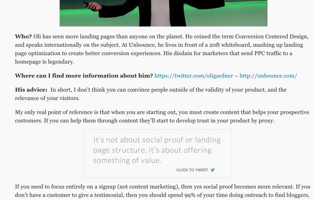 Click To Tweet box on a sample blog.