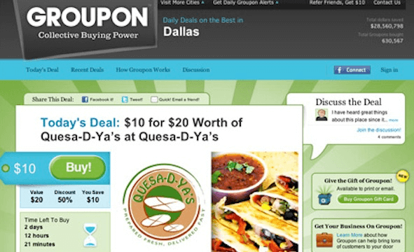 Groupon - Limited Time Offers