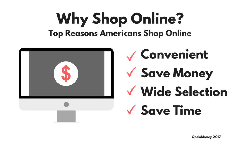 Why shop online - Top Reasons Americans Shop Online
