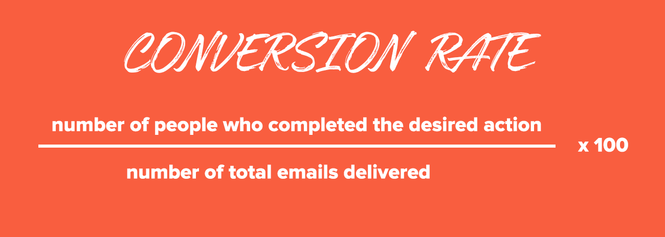 Email Marketing Metrics: Conversion Rate