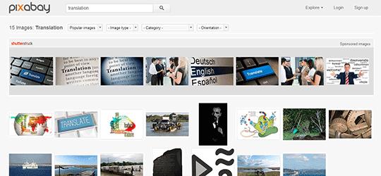 pixabay translation search