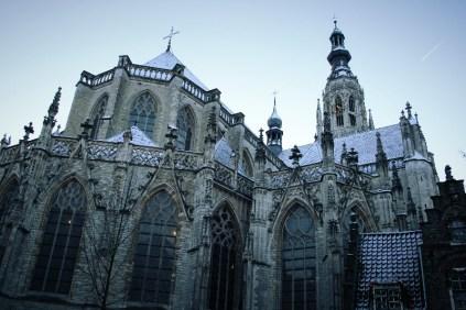Grote Kerk in de sneeuw-5
