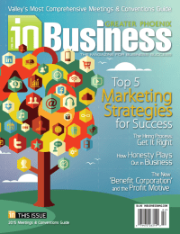 February 2014 In Business Magazine Cover