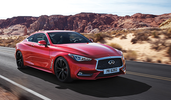 2017 Infiniti Q60 Red Sport 400 Awd Coupe Greater Phoenix