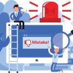 Menacing Mistakes on Social Media