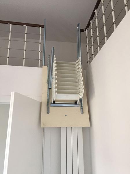 Escalier Escamotable Pour Mezzanine Rabattable Pour Gagner