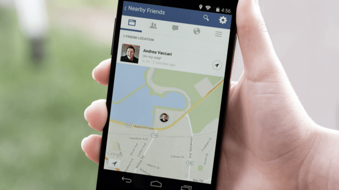 Facebook Wants You To Broadcast Your Location To Your Friends?