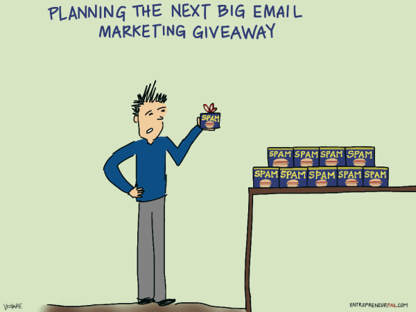 Planning The Next Big Email Marketing Giveaway
