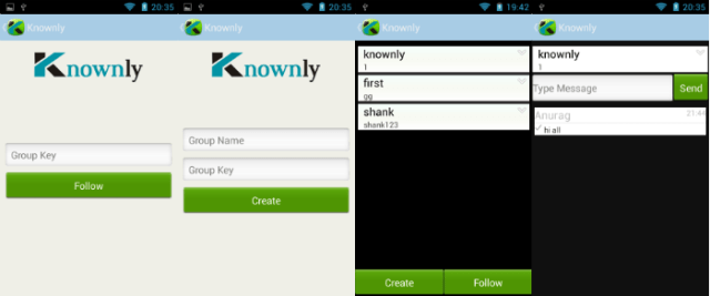 knownly app