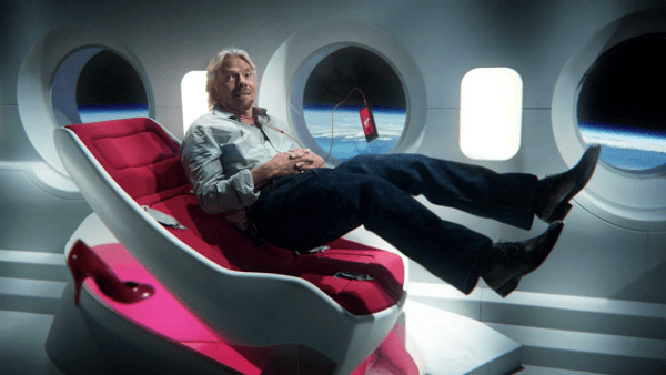 richard branson space