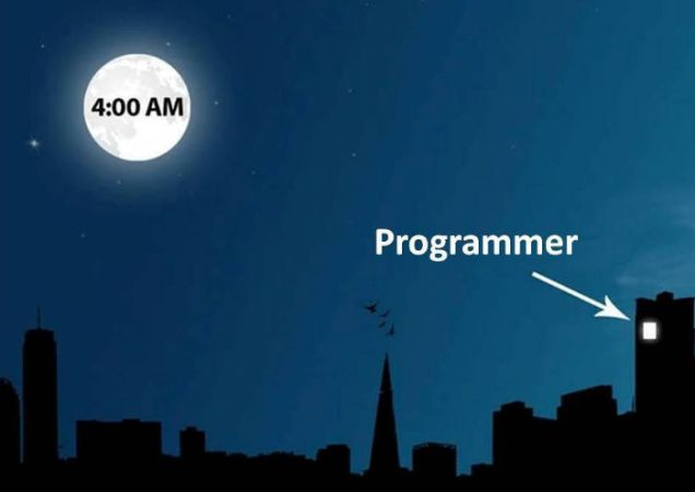Here Is Why Programmers Are All Night Owls