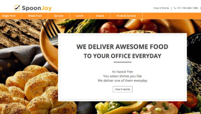 Food Delivery Startup SpoonJoy Gets Funding From Sachin Bansal & Others